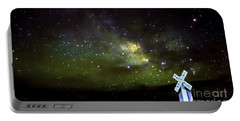 Milkyway  Crossing Blur Portable Battery Charger