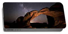 Milkyway Over Broken Arch Portable Battery Charger