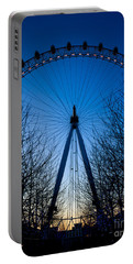 Millennium Eye London At Twilight Portable Battery Charger