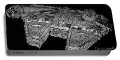 Millennium Falcon Portable Battery Charger