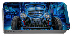 Millers Chop Shop 1946 Chevy Truck Portable Battery Charger by Yo Pedro