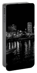 Milwaukee Downtown Third Ward Portable Battery Charger by Susan  McMenamin