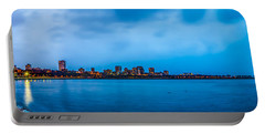 Portable Battery Charger featuring the photograph Milwaukee Skyline - Version 2 by Steven Santamour