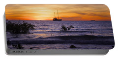 Mindil Beach Sunset Portable Battery Charger by Venetia Featherstone-Witty