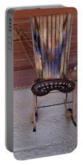 Portable Battery Charger featuring the photograph Miner's Rocker by Fran Riley