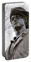Minute Man Statue 3 Portable Battery Charger
