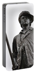 Minute Man Statue Concord Massachusetts Portable Battery Charger