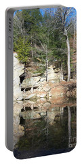 Sugar Creek Mirror Portable Battery Charger by Pamela Clements