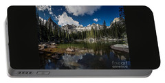 Portable Battery Charger featuring the photograph Mirror Lake by Steven Reed