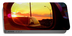 Mirror Sunset Portable Battery Charger