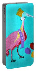 Miss Universe Portable Battery Charger by Lorna Maza