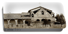 Mission San Antonio De Padua California Circa 1885 Portable Battery Charger