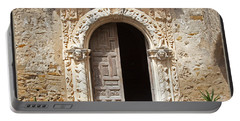 Mission San Jose Chapel Entry Doorway Portable Battery Charger