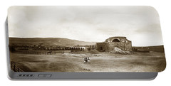 Mission San Juan Capistrano California Circa 1882 By C. E. Watkins Portable Battery Charger