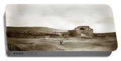 Mission San Juan Capistrano California Circa 1882 By C. E. Watkins Portable Battery Charger