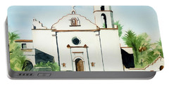 Mission San Luis Rey Colorful II Portable Battery Charger