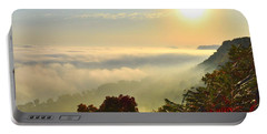 Mississippi River Fog Portable Battery Charger