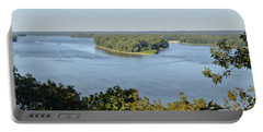 Mississippi River Overlook Portable Battery Charger