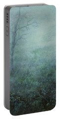 Mist On The Meadow Portable Battery Charger