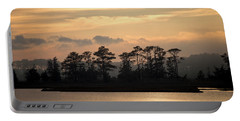 Misty Island Of Assawoman Bay Portable Battery Charger