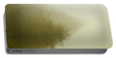 Misty Morning Reflection. Portable Battery Charger