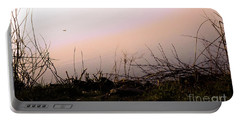 Portable Battery Charger featuring the photograph Misty Morning by Robyn King