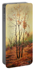 Misty Morning Portable Battery Charger by Sorin Apostolescu