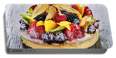 Mixed Tropical Fruit Tart Portable Battery Charger