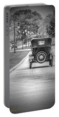 Model T Ford Down The Road Portable Battery Charger