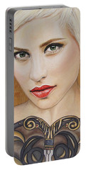 Modern Warrior Beauty Portable Battery Charger by Malinda  Prudhomme