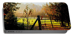 Portable Battery Charger featuring the photograph Moffit Bridge  by Daniel Thompson