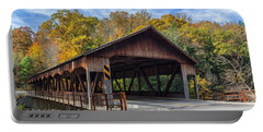 Mohican Covered Bridge Portable Battery Charger