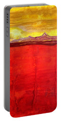 Mojave Dawn Original Painting Portable Battery Charger