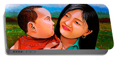 Mom And Babe Portable Battery Charger