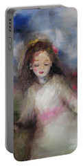 Mommy's Little Girl Portable Battery Charger by Laurie L