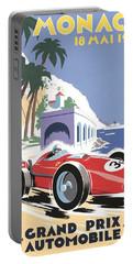 Monaco Grand Prix 1958 Portable Battery Charger