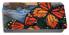 Monarch Butterflies At Natural Bridges Portable Battery Charger