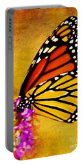 Monarch Butterfly Color Splash Sunset Portable Battery Charger