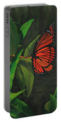 Viceroy Butterfly Oil Painting Portable Battery Charger