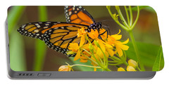 Portable Battery Charger featuring the photograph Monarch by Jane Luxton