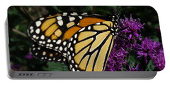 Portable Battery Charger featuring the photograph Monarch by Lingfai Leung