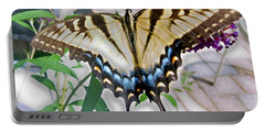 Monarch Majesty Portable Battery Charger by Judith Morris