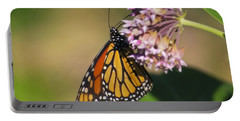 Monarch On Milkweed Portable Battery Charger