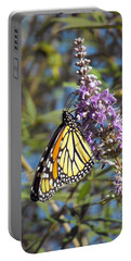Monarch On Vitex Portable Battery Charger by Jayne Wilson