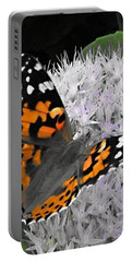 Portable Battery Charger featuring the photograph Monarch by Photographic Arts And Design Studio