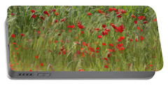 Monet Poppies IIi Portable Battery Charger