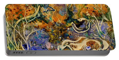Monet Under Water Portable Battery Charger