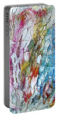 Monet's Garden Portable Battery Charger by Bellesouth Studio