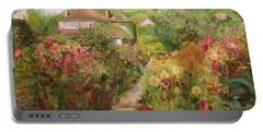 Monets Garden Fall Medley Portable Battery Charger