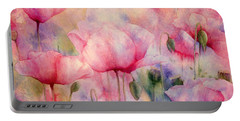 Monet's Poppies Vintage Warmth Portable Battery Charger